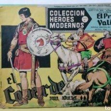Tebeos: LOTE EL PRINCIPE VALIENTE Nº 13, 32 Y 60 HEROES MODERNOS ED. DOLAR. Lote 211807618