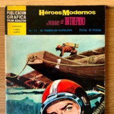 Tebeos: HEROES MODERNOS - JUAN EL INTRÉPIDO - Nº 17. Lote 221906472