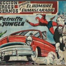 Tebeos: EL HOMBRE ENMASCARADO Nº 17 - LA PATRULLA DE LA JUNGLA - COLECCION HEROES MODERNOS - DOLAR -ORIGINAL. Lote 212883863