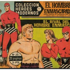 BDs: HEROES MODERNOS -SERIE A- EL HOMBRE ENMASCARADO Nº 35 DÓLAR 1964.. Lote 215263037