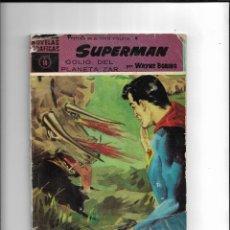 Tebeos: NOVELAS GRAFICAS PRESENTA EN SU SERIE VIOLETA A SUPERMAN Nº 18 ES ORIGINAL ÚLTIMO DE LA COLECIÓN. Lote 218165502