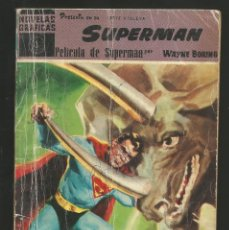 Tebeos: NOVELA GRAFICA Nº3 SUPERMAN - PELICULA DE SUPERMAN - EDITORIAL DOLAR. Lote 218280636
