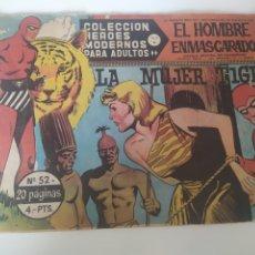 Tebeos: CÓMIC EL HOMBRE ENMASCARADO 1958. Lote 218497507