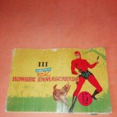 Tebeos: HOMBRE ENMASCARADO. III. COLECCION DE . EDITORIAL DOLAR 1958. CONTIENE 5 AVENTURAS.. Lote 219420856