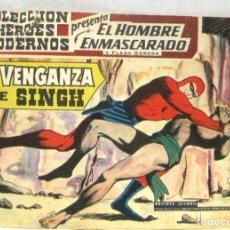 BDs: COLECCION HEROES MODERNOS -Nº 02 - EL HOMBRE ENMASCARADO - LA VENGANZA DE SINGH -COMIC. Lote 220738526