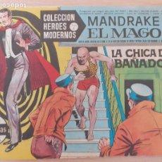 Giornalini: COLECCIÓN HÉROES MODERNOS. SERIE C Nº 2. MANDRAKE EL MAGO. LA CHICA DEL BAÑADOR. DOLAR. Lote 220784543