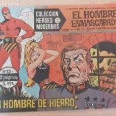 Giornalini: COLECCIÓN HÉROES MODERNOS. SERIE A Nº 26. EL HOMBRE ENMASCARADO. HOMBRE DE HIERRO. DOLAR. Lote 220785035