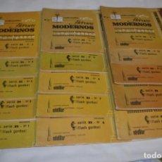 Tebeos: HÉROES MODERNOS / FLASH GORDON - SERIE B, COMPLETA / 15 CUADERNOS/ÁLBUMES - BUEN ESTADO ¡MIRA!. Lote 220845346