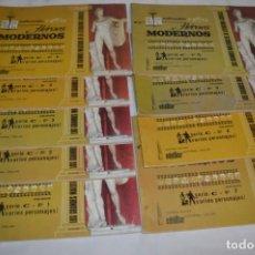 Tebeos: HÉROES MODERNOS / VARIOS PERSONAJES - SERIE C / 09 CUADERNOS/ÁLBUMES DIFERENTES - BUEN ESTADO ¡MIRA!. Lote 220867138