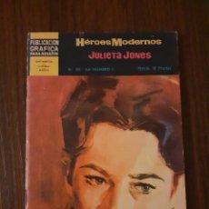 Tebeos: COMIC TEBEO NOVELAS GRAFICAS HEROES MODERNOS JULIETA JONES Nº 49 DOLAR. Lote 221604673