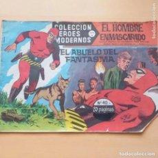 Tebeos: EL HOMBRE ENMASCARADO. EL ABUELO DEL FANTASMA. NUM 40. COLECCION HEROES MODERNOS. Lote 221813651