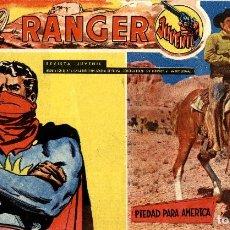Tebeos: RANGER JUVENIL-8 (DÓLAR, 1958). Lote 222488687