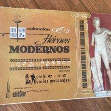 BDs: ¡LIQUIDACION TEBEO 1 EURO! PEDIDO MINIMO 5 EUROS - COL. HEROES MODERNOS / SERIE C , Nº 10 - GCH1. Lote 227955533