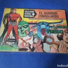BDs: HEROES MODERNOS - EL HOMBRE ENMASCARADO - Nº 7. Lote 228001447