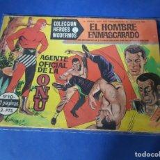 Tebeos: HEROES MODERNOS - EL HOMBRE ENMASCARADO - Nº 10. Lote 228001600