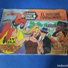 Tebeos: HEROES MODERNOS - EL HOMBRE ENMASCARADO - Nº 11. Lote 228001690