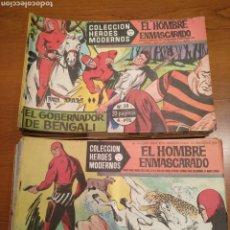 Tebeos: EL HOMBRE ENMASCARADO, COLECCIÓN COMPLETA, 75 NÚMEROS, HÉROES MODERNOS. Lote 228723882