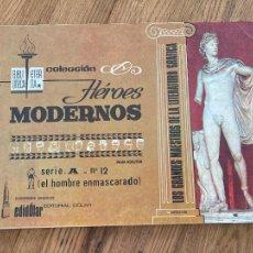 Livros de Banda Desenhada: ¡LIQUIDACION TEBEO 1 EURO! PEDIDO MINIMO 5 EUROS - COL. HEROES MODERNOS - SERIE A / Nº 12 - GCH. Lote 236305585