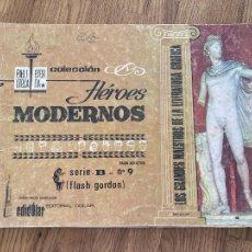 BDs: ¡LIQUIDACION TEBEO 1 EURO! PEDIDO MINIMO 5 EUROS - COL. HEROES MODERNOS - SERIE B / Nº 9 - GCH. Lote 236305695