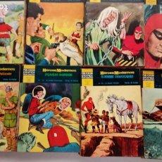 Tebeos: HEROES MODERNOS II EPOCA SERIE AMARILLA DOLAR 1959 COMPLETA, MAGNÍFICO ESTADO, VER PORTADAS. Lote 248818325