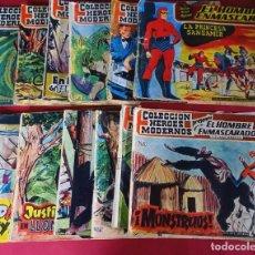 Giornalini: LOTE DE 26 HEROES MODERNOS - EL HOMBRE ENMASCARADO - 1958 -,Nº 1,6,12,13,15...ETC. Lote 252260885
