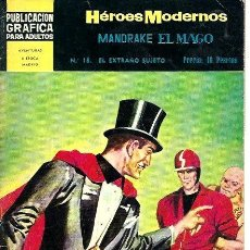 Giornalini: HÉROES MODERNOS MANDRAKE EL MAGO Nº 18. Lote 252532320