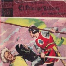 Tebeos: EL PRINCIPE VALIENTE 3 EN LAS ISLAS BRUMA - HAROLD FOSTER - NOVELAS GRAFICAS - EDITORIAL DOLAR 1959. Lote 253242265
