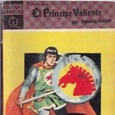 Tebeos: EL PRINCIPE VALIENTE 4 AMOR Y FURIA - HAROLD FOSTER - NOVELAS GRAFICAS - EDITORIAL DOLAR 1959. Lote 253242730