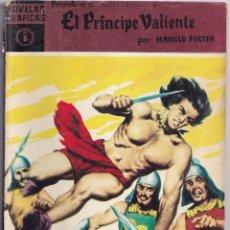 Tebeos: EL PRINCIPE VALIENTE 6 UNA ESPOSA DECIDIDA - HAROLD FOSTER - NOVELAS GRAFICAS - EDITORIAL DOLAR 1959. Lote 253243410