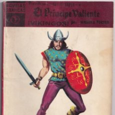 Tebeos: EL PRINCIPE VALIENTE 7 VIKINGOS - HAROLD FOSTER - NOVELAS GRAFICAS - EDITORIAL DOLAR 1959. Lote 253245435