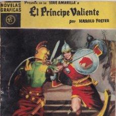Tebeos: EL PRINCIPE VALIENTE 15 PASO DEL RUBICON - HAROLD FOSTER - NOVELAS GRAFICAS - EDITORIAL DOLAR 1959. Lote 253280875