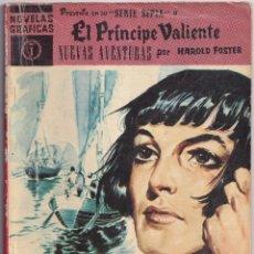 Tebeos: EL PRINCIPE VALIENTE 1 NUEVAS AVENTURAS - HAROLD FOSTER - NOVELAS GRAFICAS - EDITORIAL DOLAR 1959. Lote 253281375