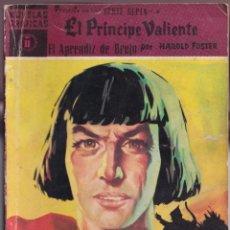 Tebeos: EL PRINCIPE VALIENTE 11 APRENDIZ BRUJO - HAROLD FOSTER - NOVELAS GRAFICAS - EDITORIAL DOLAR 1960. Lote 253282140