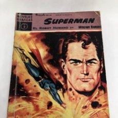 Giornalini: COMIC SUPERMAN Nº 2 EL ROBOT HUMANO EDITORIAL DOLAR. Lote 253607370