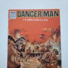 Tebeos: DANGER MAN N°.26. HISTORIAS DE GUERRA EN LA JUNGLA. DOLAR.. Lote 253633335