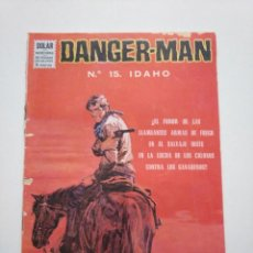 Tebeos: DANGER MAN N°.15 IDAHO DOLAR.. Lote 253634725