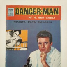 Tebeos: DANGER MAN N°.6 BEN CASEY. DOLAR.. Lote 253635425