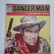 Tebeos: DANGER MAN N°.1 HAZAÑAS DEL OESTE. DOLAR.. Lote 253636390