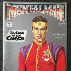 Tebeos: MENTALMAN Nº 1 - LA SAGA DE LOS CANYON - EDITORIAL DOLAR - 1991 - ¡COMO NUEVO!. Lote 255496875