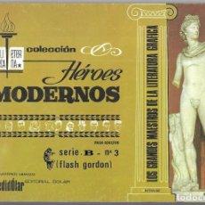Tebeos: FLASH GORDON. SERIE B Nº 3 . BIBLIOTECA ETERNA COL. HÉROES MODERNOS. REENTAPADO.. Lote 261521600