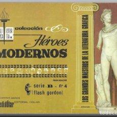 Tebeos: FLASH GORDON. SERIE B Nº 4 . BIBLIOTECA ETERNA COL. HÉROES MODERNOS. REENTAPADO.. Lote 261521815