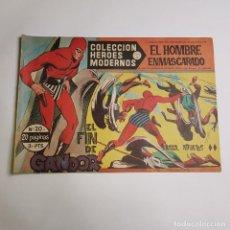 Tebeos: DOLAR - COLECCION HEROES MODERNOS - EL HOMBRE ENMASCARADO - SERIE A - EL FIN DE GANDOR 20. Lote 262880415