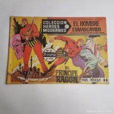 Tebeos: DOLAR - COLECCION HEROES MODERNOS - EL HOMBRE ENMASCARADO - SERIE A - EL PRINCIPE RAGON 21. Lote 262880485