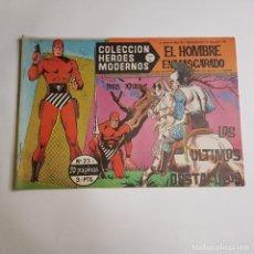 Tebeos: DOLAR - COLECCION HEROES MODERNOS - EL HOMBRE ENMASCARADO - SERIE A - LOS ULTIMOS OBSTACULOS 23. Lote 262880635