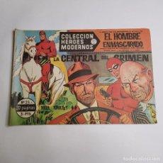Tebeos: DOLAR - COLECCION HEROES MODERNOS - EL HOMBRE ENMASCARADO - SERIE A - LA CENTRAL DEL CRIMEN 25. Lote 262880745