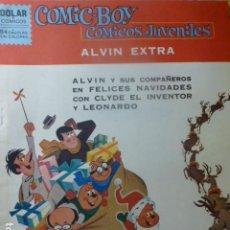 Livros de Banda Desenhada: COMIC BOY Nº ALVIN EXTRA DE DOLAR 1963. Lote 263237305