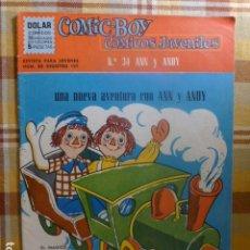 Livros de Banda Desenhada: COMIC-BOY ANN Y ANDY Nº 34 1964 DE DOLAR. Lote 263255115