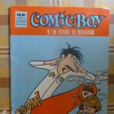 Tebeos: COMIC-BOY CLLYDE EL INVENTOR Nº 10 1964 DE DOLAR. Lote 263255370