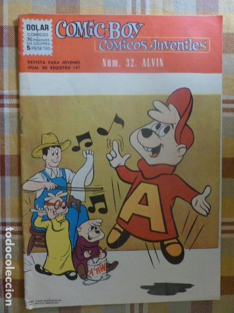 COMIC-BOY ALVIN Nº 32 1962 DE DOLAR (Tebeos y Comics - Dólar)