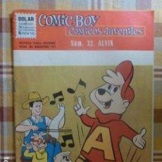 Tebeos: COMIC-BOY ALVIN Nº 32 1962 DE DOLAR. Lote 263255500